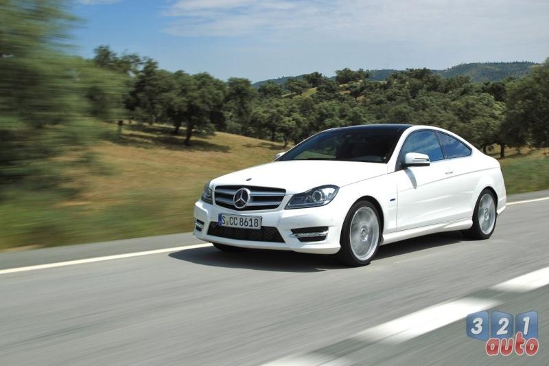 Essai mercedes classe c coup 220 cdi be - Mercedes classe c 220 coupe ...