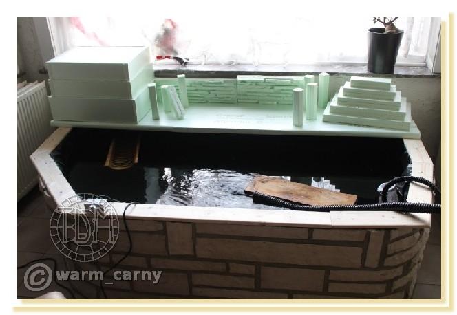 Exemples de bassins int rieurs pour aquatiques - Aquarium complet pour tortue d eau ...