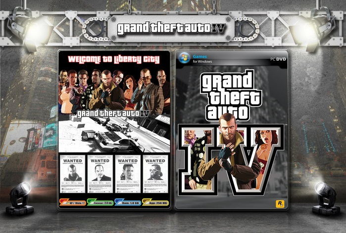 GTA IV (2011) - EFLC 2in1 REPACK/RIP - BLACK BOX