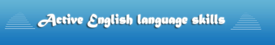 Active English language skills