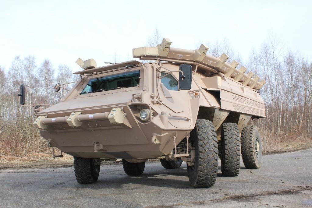 Rheinmetall e ADS demonstram sistema de defesa para viaturas