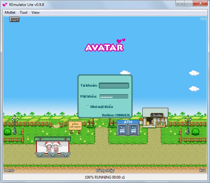 choi game avatar chen may tinh