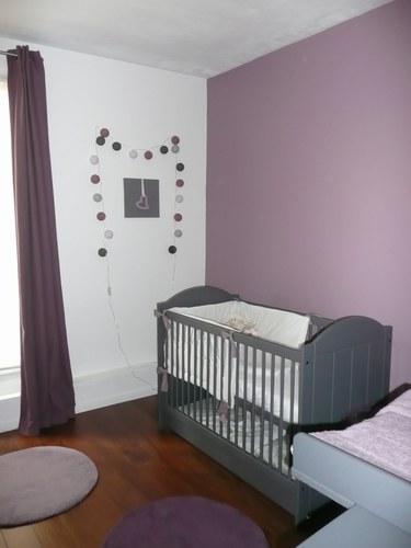 chambre b b fille. Black Bedroom Furniture Sets. Home Design Ideas