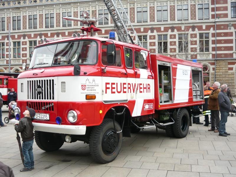 MCZ ESPEWE Sondermodell IFA W50 RTGW Feuerwehr Erfurt