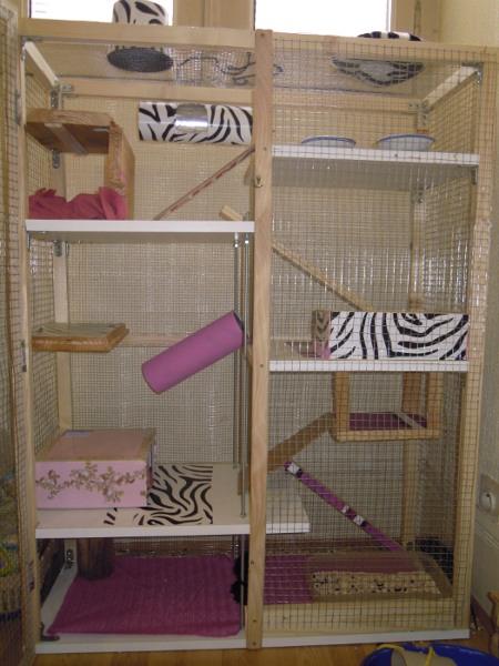 la m t cage faite maison. Black Bedroom Furniture Sets. Home Design Ideas