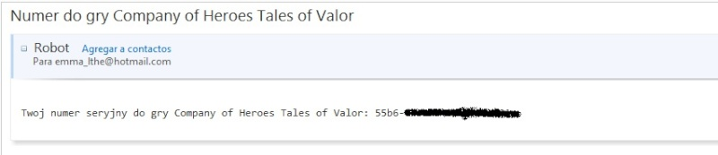 Obtener Serial Original COH: Tales of Valor!