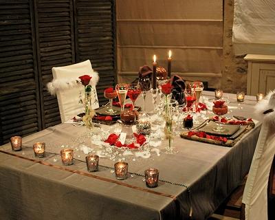 D co eph m re tables st valentin for Deco de table saint valentin
