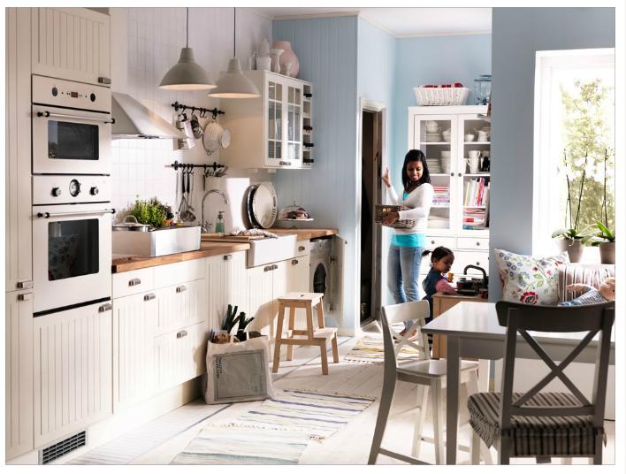 La maison de lilly commen ons par la cuisine - Cuisine sans poignee ikea ...
