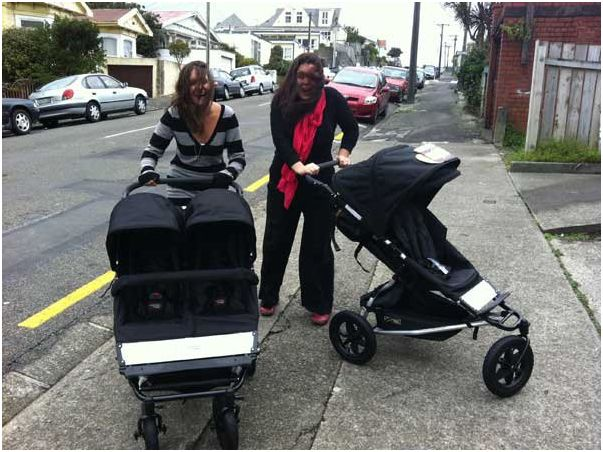 poussette double mountain buggy