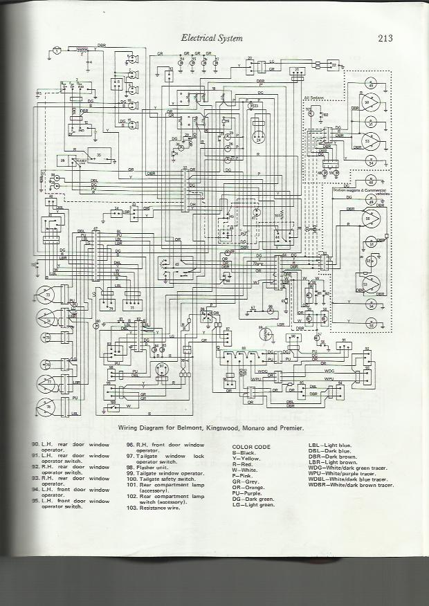 Hq Holden Wiring Diagram : Ignition switch connector