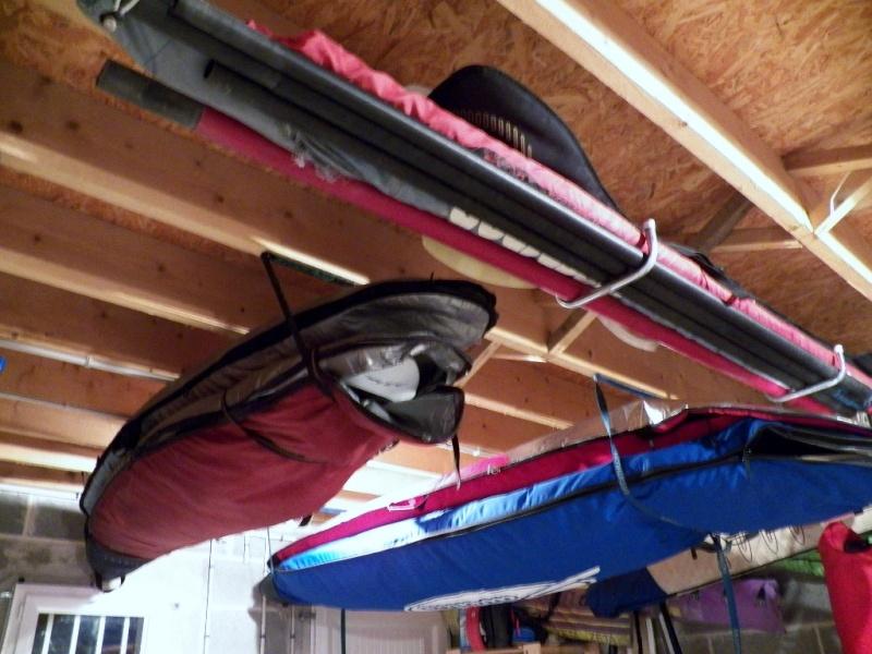 Stockage sup race 12 39 6 page 2 for Rangement au plafond garage