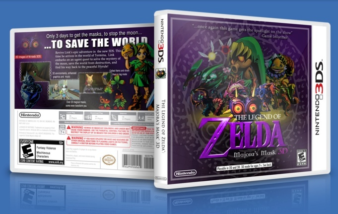 Zelda Majora S Mask 3ds Peticion Secretos De Zelda