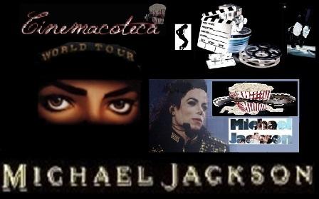 Seção Cinema - Filmes, Comerciais, Os Making Ofs, A Dança de MJ,  Ensaios, Cartoons