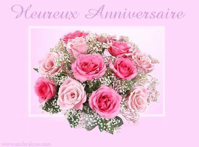 Joyeux anniversaire monique f for Image bouquet de fleurs 50 ans
