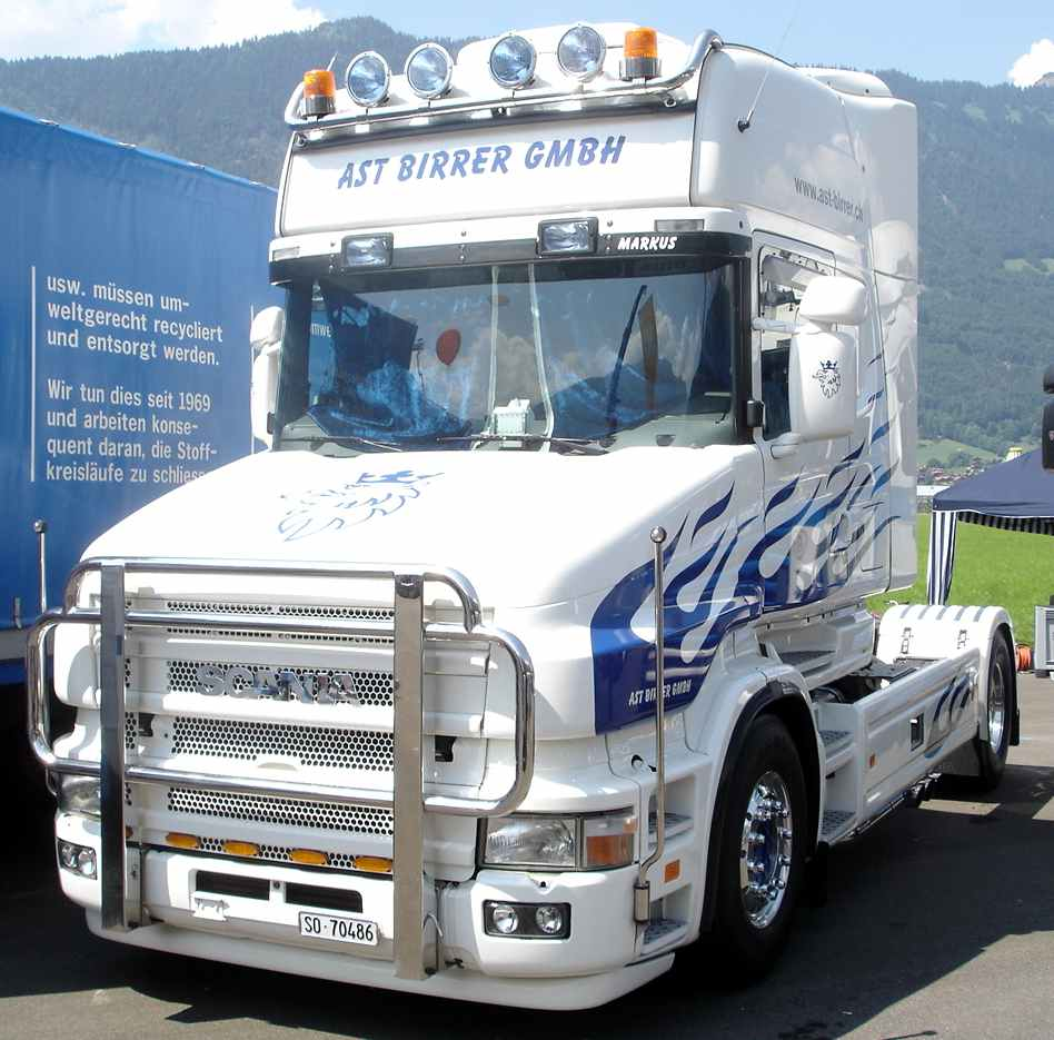 Scania s rie t cabine a capot page 3 - Camion americain dessin ...