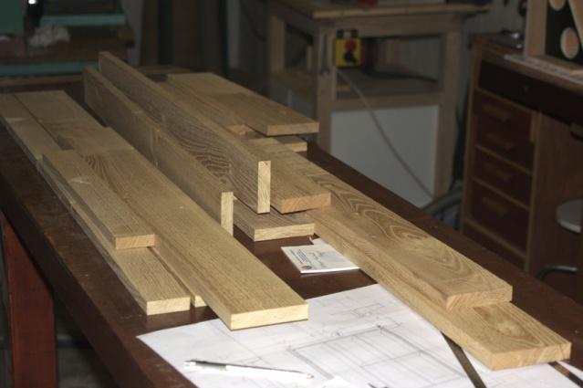 Fabrication meuble de salle de bains en robinier - Fabrication meuble salle de bain ...
