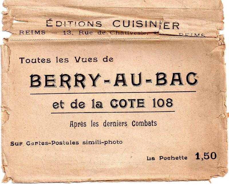 Cartes Postales de Berry-au-Bac et de la Cote 108