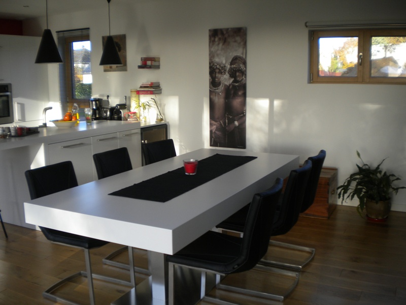 Awesome Salle A Manger Fly Blanc Contemporary - Awesome Interior ...
