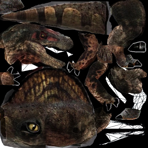 planet dinosaur spinosaurus in progress