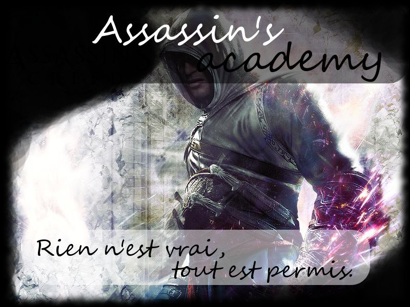 Assassin's academy RPG