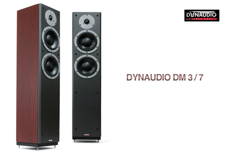 Dynaudio Dm 3/7 Floor Standing Speaker (New)