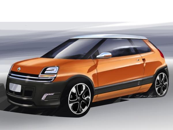 Sehr La future 4L  Renault 4 - Le retour de la R4 / Général / Forum 4L DY65