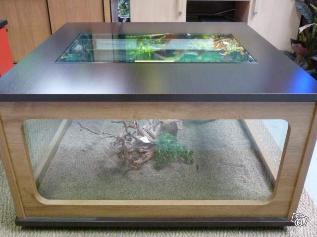 Reparation angle inferieur aquarium 310 litres - Le bon coin table basse occasion ...