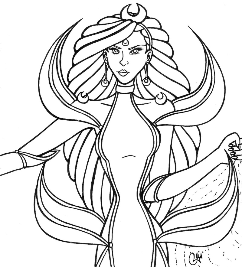 The evil queen colouring pages page 2 for Evil queen coloring pages