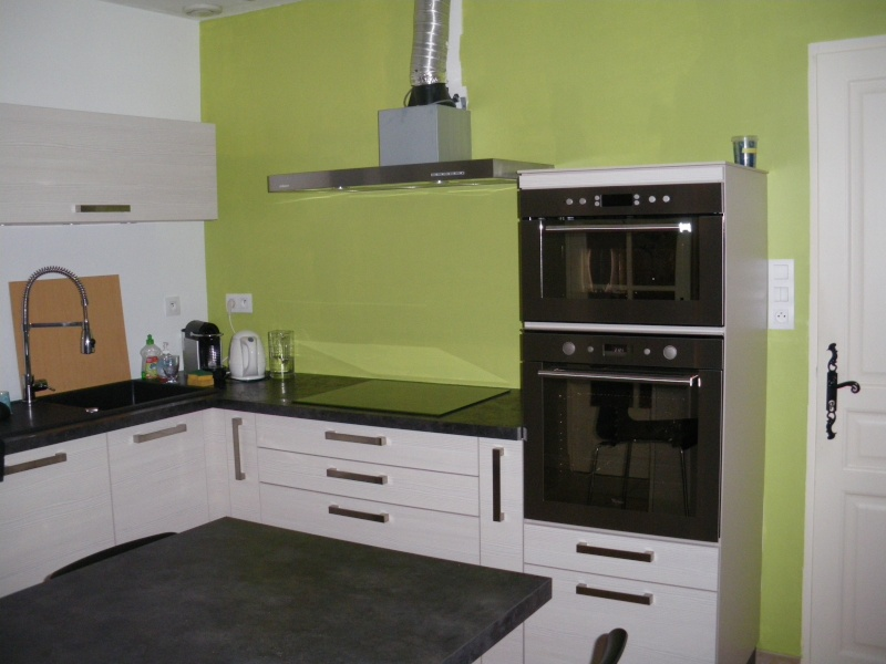 Aide pour choix de couleur peinture des murs de cuisine for Peindre un carrelage de cuisine