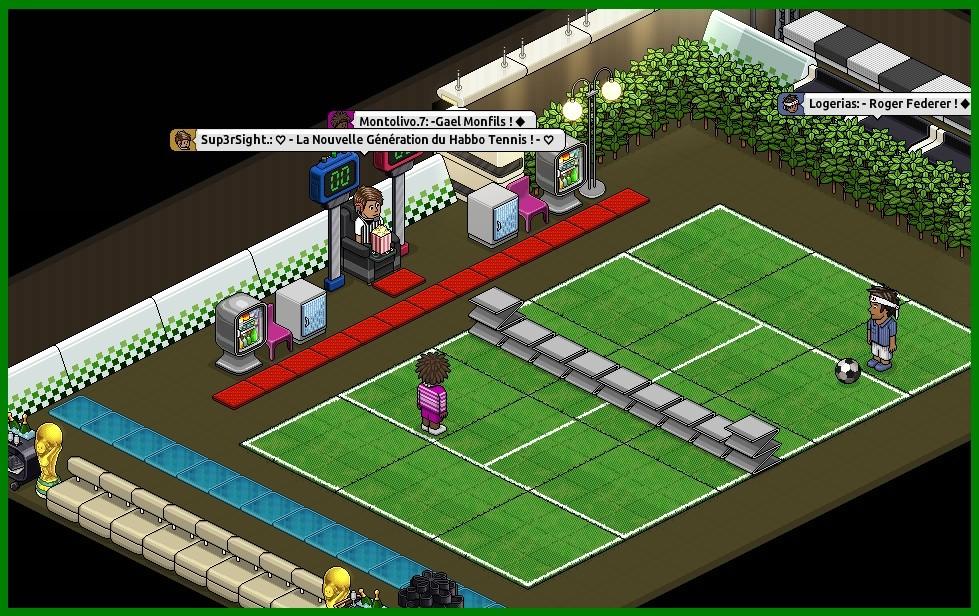 Habbo Tennis