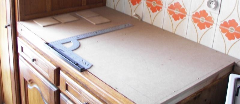 r hausser un plan de travail de cuisine. Black Bedroom Furniture Sets. Home Design Ideas