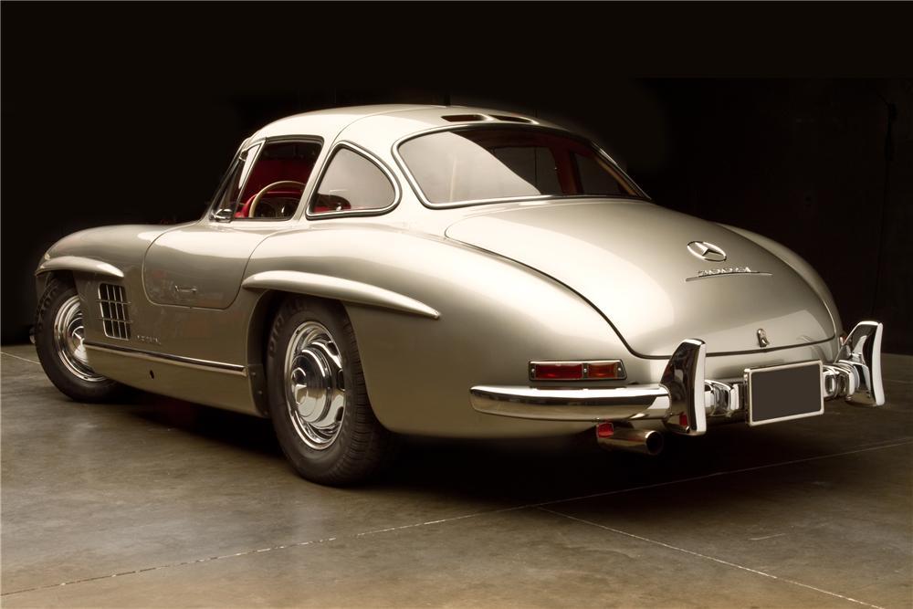 Une mercedes benz 300sl gullwing de 1954 en vente par for Mercedes benz of jackson