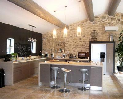 La maison de lilly commen ons par la cuisine page 2 - Photo cuisine grise et bois ...