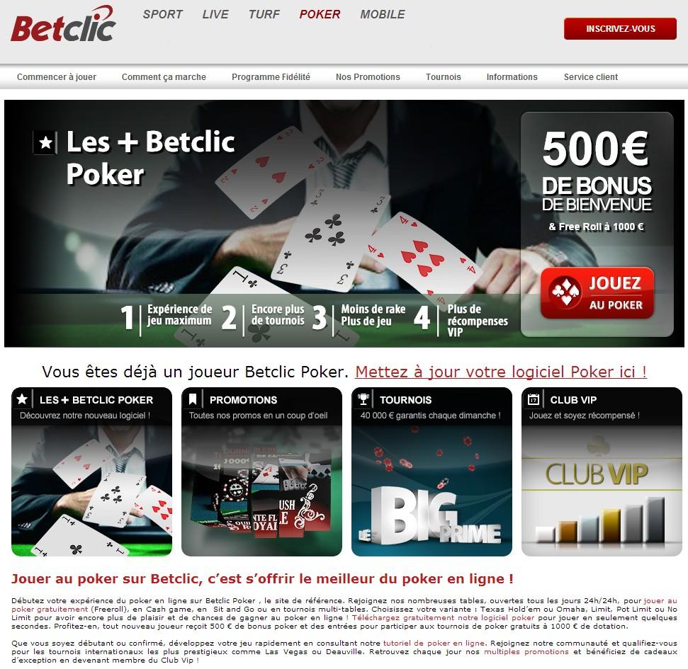 Cliquez ici pour créer un compte avec Betclic.fr