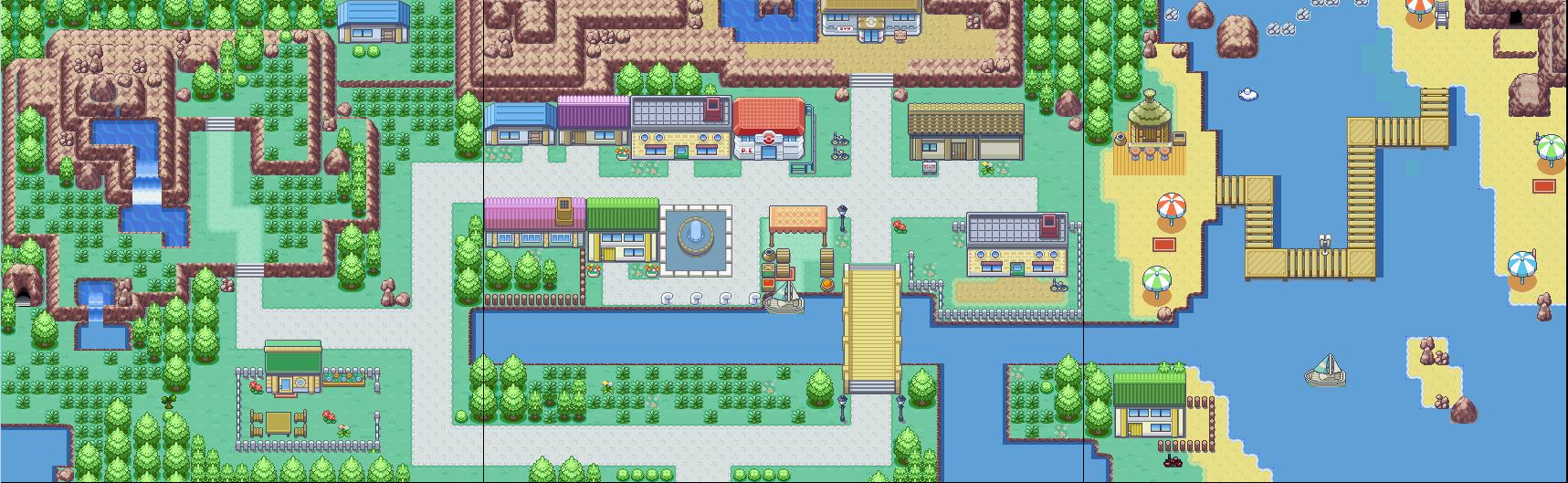 The gallery for Pokemon World Online Map