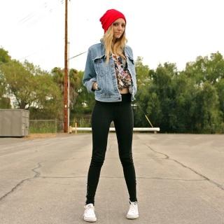 Que porter avec une veste en jean - Que mettre avec un jean bleu ...