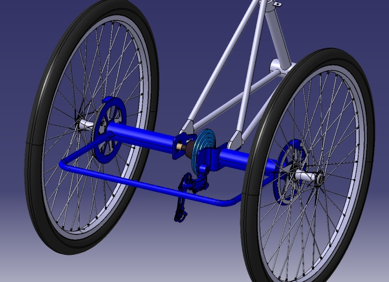 projet kit tricycle. Black Bedroom Furniture Sets. Home Design Ideas