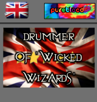 British - Pureblood - Drummer Of 'Wicked Wizards'