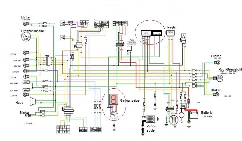 Как сделать свет на скутера 945