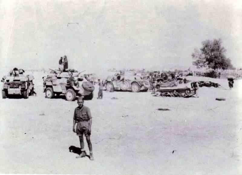 Le matériel capturé par les Italiens en Afrique du Nord matari10