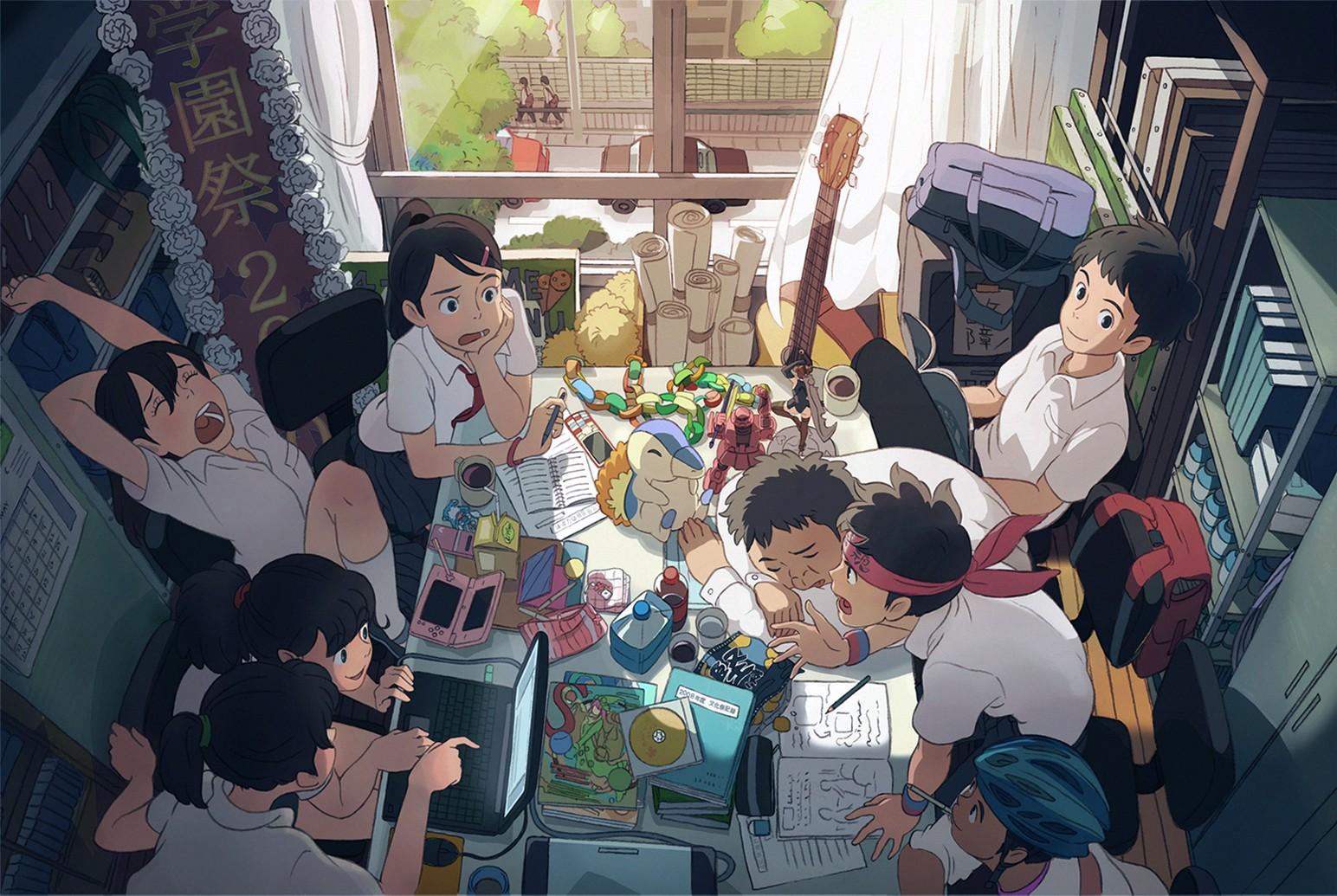 anime, Pok mon, original characters, Gundam, Japanese, comics, peaceful, bliss, peace, Friends, Nintendo DS, Zaku II, ART